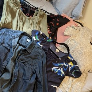 Lot of 6 A New Day Tops